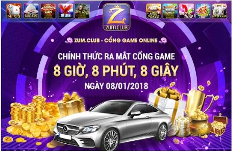 Tải Zum.club- game bài đổi thưởng mới ra mắt năm 2018 icon