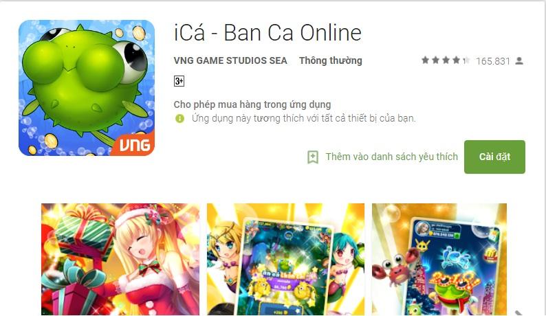 Game iCá – tải game bắn cá đổi thưởng hấp dẫn nhất icon