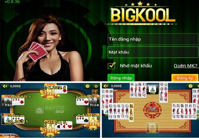 Chơi game bài trên bigkool- tất cả các cách nhận tiền thưởng icon