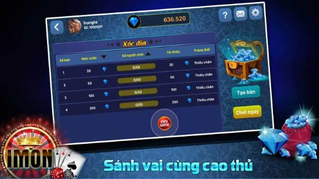 Hình ảnh imon dang cap game bai doi thuong lon hot nhat vn 2 in Imon – Đẳng cấp game bài đổi thưởng lớn hot nhất VN.