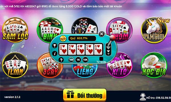 Hình ảnh mini poker game choi bai doi the chi co tai vip52 in Tài xỉu đổi thưởng online – Mini game chơi bài đổi thẻ hay nhất Vip52