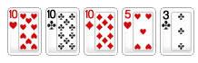 Hình ảnh poker online 5 in 10 thuật ngữ mà người chơi poker online nào cũng phải biết