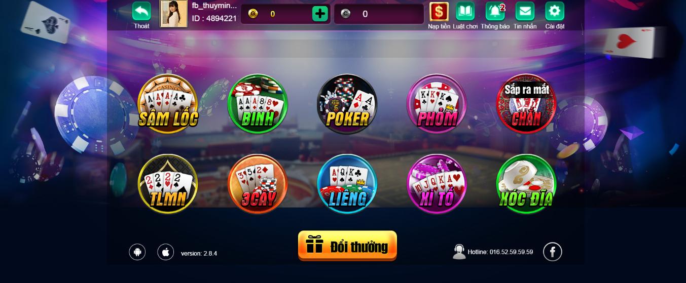 Hình ảnh vip 52 in Quy định chơi game bài đổi thưởng Vip 52