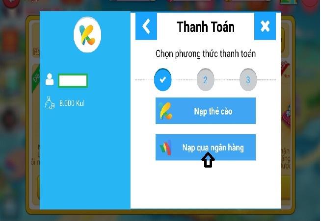 Game bài online Nhất Nhì Ba – hướng dẫn cách nạp tiền qua iBanking icon