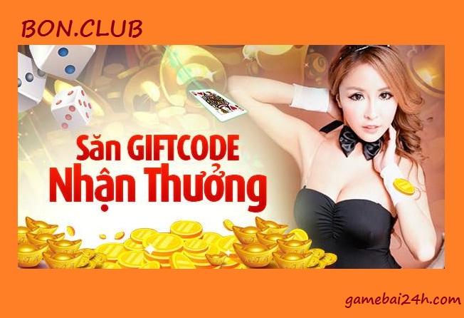 Cách nhận giftcode Bon.club miễn phí, nhanh chóng, thuận tiện icon