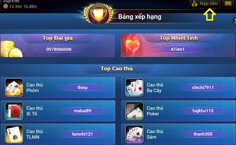 Nạp tiền Bigkool và những lưu ý cho người chơi icon