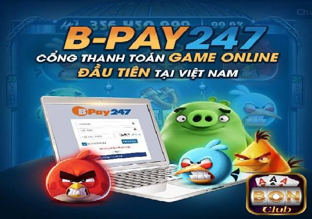 BPay247 – cổng thanh toán mới được cho ra mắt của Bonclub icon