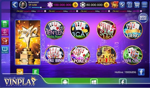 Hình ảnh i3 in Xeng club và những điểm khác biệt so với cổng game Vinplay