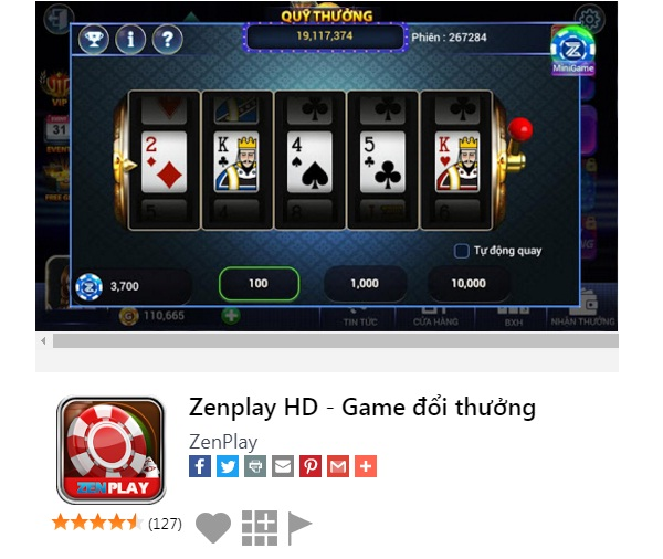 Tải Zenplay- cổng game bài tiện lợi nhất hiện nay icon