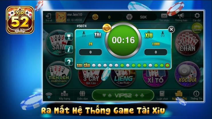 Cổng game bài đổi thưởng uy tín số 1 Việt Nam- Vip52 icon