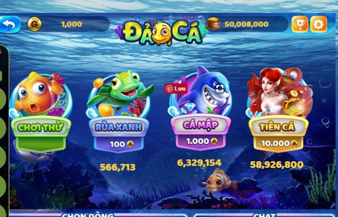Bắn cá là gì? Mách nhỏ một số thủ thuật chơi game bắn cá icon
