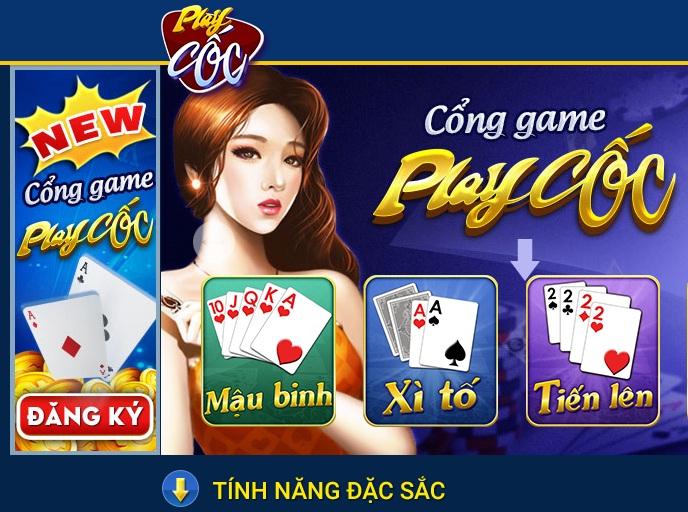 Khám phá tính năng nổi bật của game bài PlayCoc icon