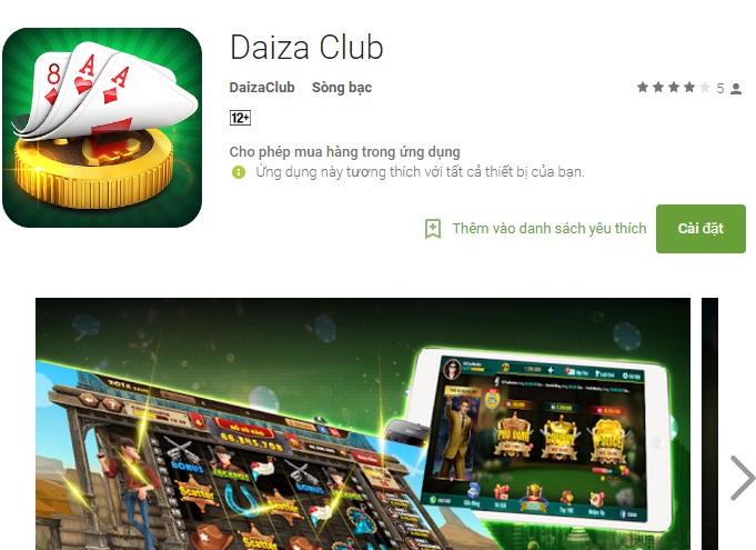 Tải daiza.club – câu lạc bộ của các đại gia mới nhất và hấp dẫn nhất icon