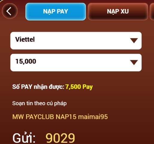 Hình ảnh 2e in Cách nạp thẻ Pay.club đơn giản, nhanh chóng, dễ dàng