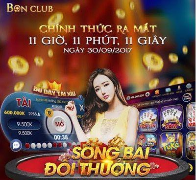 Bonclub- game bài đẳng cấp đổi thưởng số 1 Việt Nam icon