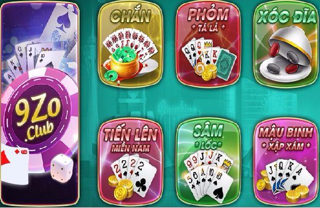 9ZO- Game bài đổi thưởng sắp ra mắt thay thế Gis icon