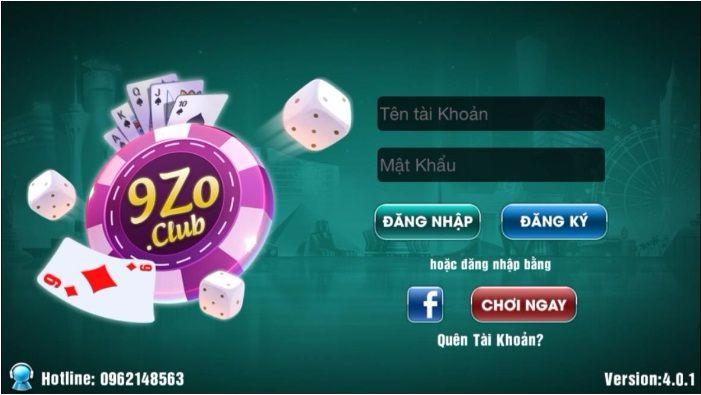 Hướng dẫn tải 9zo.club trên iOs, quy định chơi game trên 9zo icon