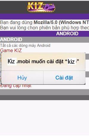 Hình ảnh 7a compressed in Hướng dẫn cài đặt Kizclub trên iOs, Android vô cùng chi tiết
