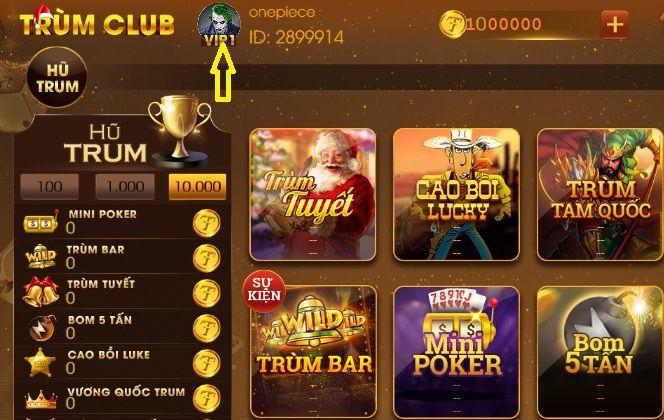 Vip Point Trumclub là gì? Hướng dẫn đổi Vip point sang Trum icon