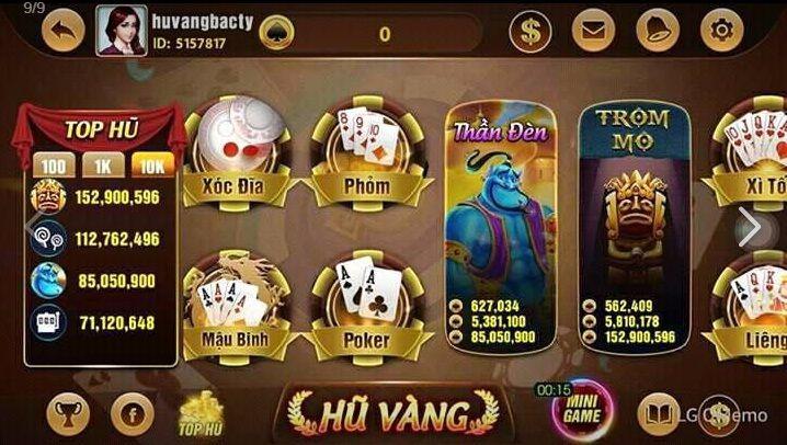 Game bài Hũ vàng- Tải Hũ vàng, nhận giftcode miễn phí icon
