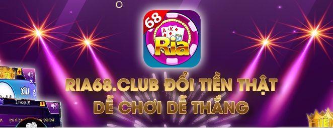 Ria68club- Tải Ria68club, chơi game đổi tiền thật miễn phí icon