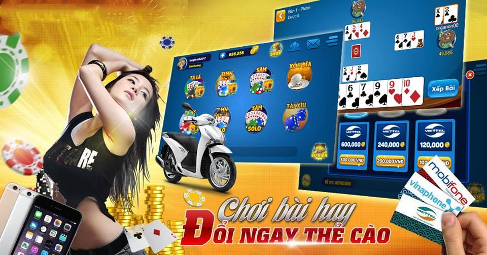 Hình ảnh dieu kien doi thuong cao cua game bai 1368 in Điều kiện đổi thưởng thẻ cào của game bài 1368