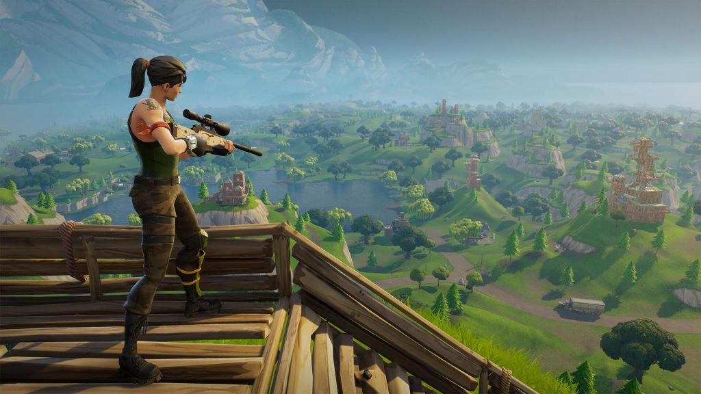 Hình ảnh gamê Fortnite 1024x576 in Fortnite- tưạ game gây sốt khi mới được ra mắt