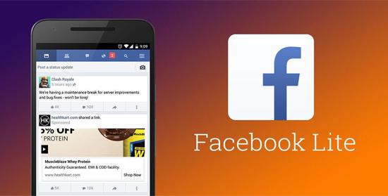 Tải Facebook Lite siêu nhẹ, siêu nhanh cho điện thoại di động icon