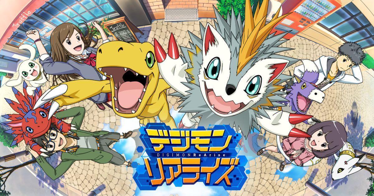 Hình ảnh Digimon_ReArise in Loạt Game nhập vai mobile sắp ra mắt dự kiến sẽ quẩy hết mình trong tháng 7 này