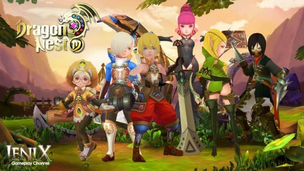 Hình ảnh Game Dragon Nest Mobile 1024x576 in Dragon Nest Mobile – Game nhập vai phiên bản Việt sắp ra mắt