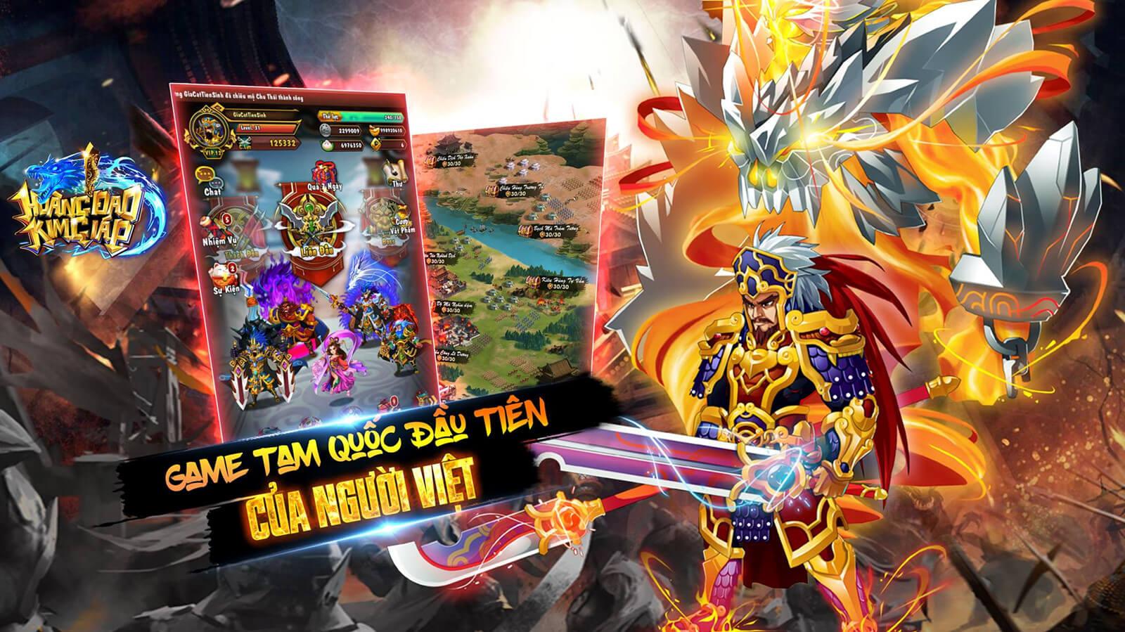 Hình ảnh Game Hoang Dao Kim Giap in Hoàng Đao Kim Giáp – Game Tam Quốc Chiến thuật