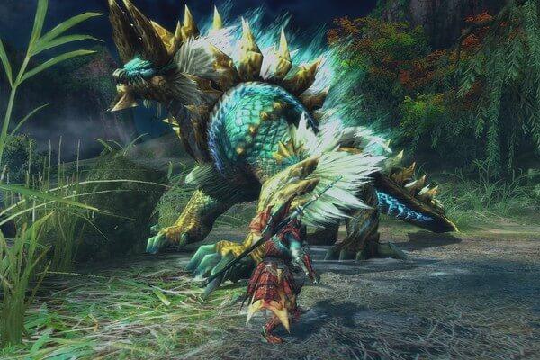 Hình ảnh Monster Hunter World Game in Monster Hunter World và thế giới quái vật khổng lồ