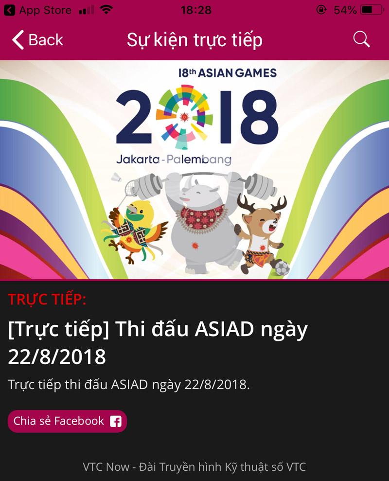 Hình ảnh tai vtc now theo doi asiad 2018 ngay tren dien thoai 2 in Tải VTC Now – Theo dõi ASIAD 2018 ngay trên điện thoại