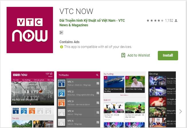 Tải VTC Now – Theo dõi ASIAD 2018 ngay trên điện thoại icon