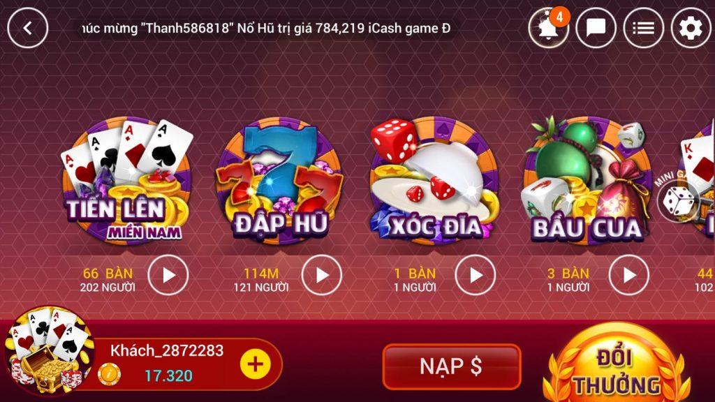 Hình ảnh 12 1024x576 in Đánh bài online rinh ngay thẻ cào chỉ với game XGame Club