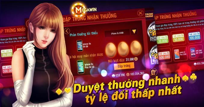 Hình ảnh 22 in Megawin game online đánh bài đổi thẻ cào chớ dại bỏ qua