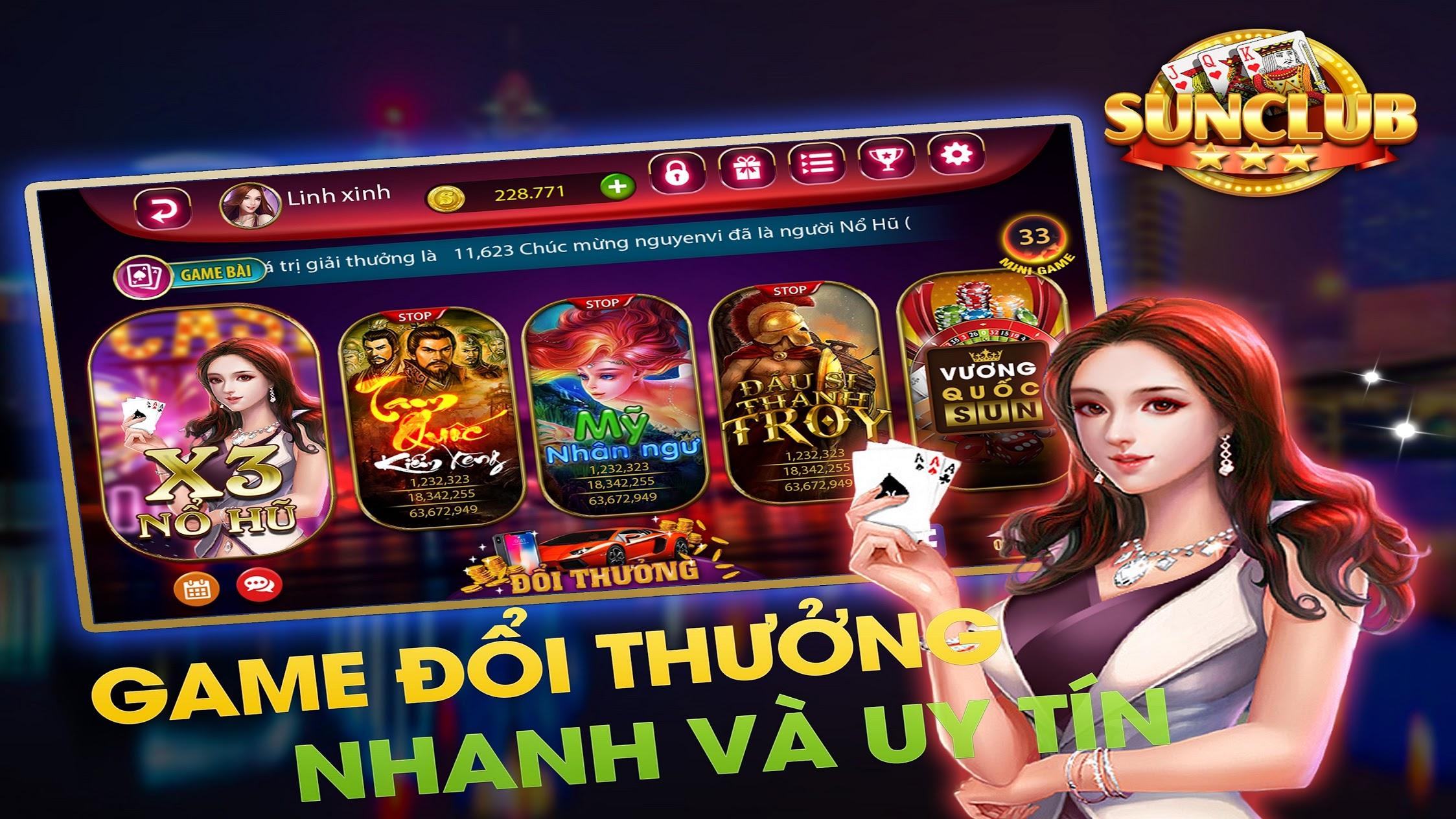 Hình ảnh 2666 2 2 in Sun Club chơi game chất lượng đổi thưởng liền tay