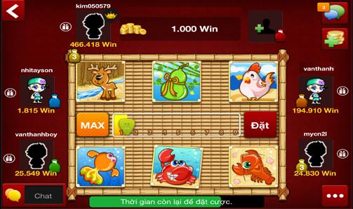 Hình ảnh Screenshot_1 in Tất tần tật về game bầu cua đổi thưởng