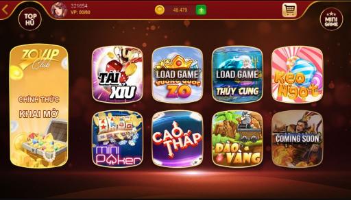 Hình ảnh Screenshot_7 in ZoVip Club game bài đổi thưởng mini slot online mới trình diện vào 5/2018