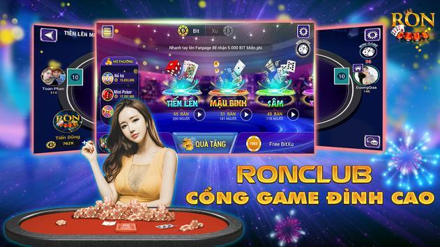 Hình ảnh phat tai loc chi voi game bai doi thuong ron cub 2 in Phát tài lộc chỉ với game bài đổi thưởng Ron Club