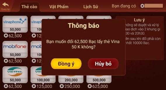 Hình ảnh 1 1 in Bật mí cách đổi thưởng tại cổng game baivip.net