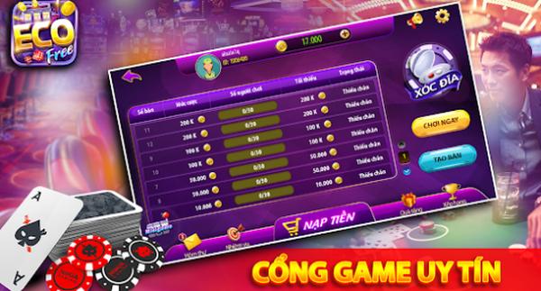 Hình ảnh 12 in Tải game Eco Slot cổng game đổi thưởng miễn phí uy tín