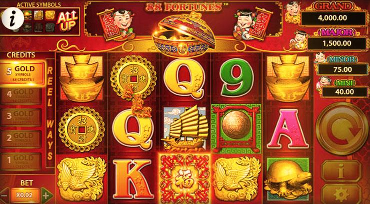 Game 88 Fortunes las vegas casino đổi thưởng thật icon