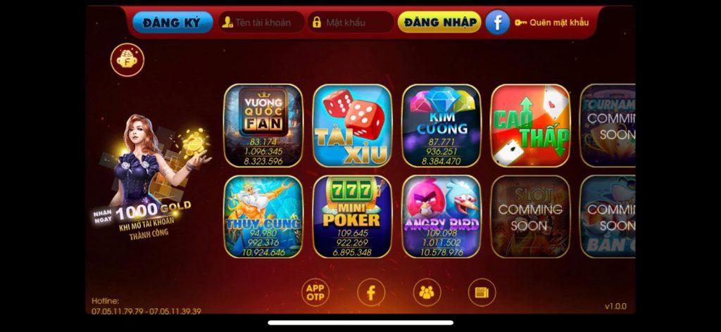 Hình ảnh 10 1024x472 in Fanvip Club – huyền thoại game bài đổi thưởng online trở lại