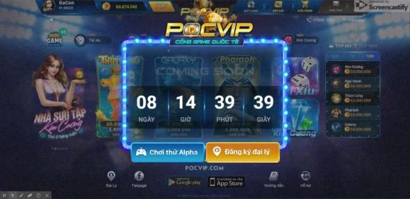 Hình ảnh Screenshot_1 4 in Pocvip – siêu phẩm bom tấn đổi thưởng 2018 đã trở lại