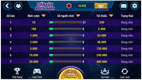 Hình ảnh Screenshot_1 6 in Tải LX88 – Game dân gian Online hay nhất 2018