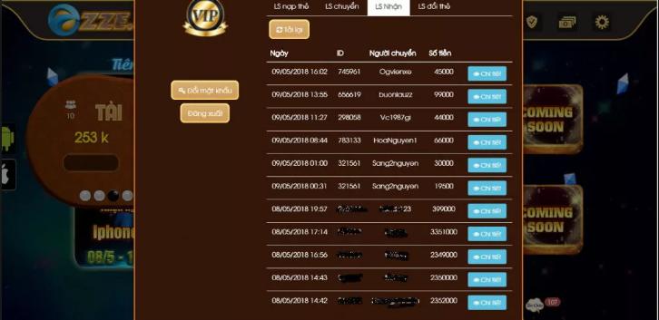 Hình ảnh Screenshot_10 2 in Siêu phẩm online đổi thưởng có 1 không 2 Ozze Club