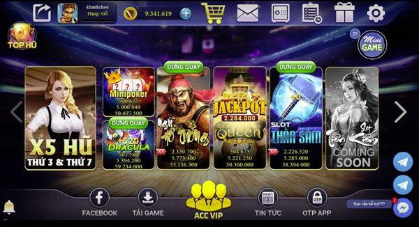 Hình ảnh vinvip 3 in Trải nghiệm game bài đổi thưởng chất lượng đại gia với Vinvip Club
