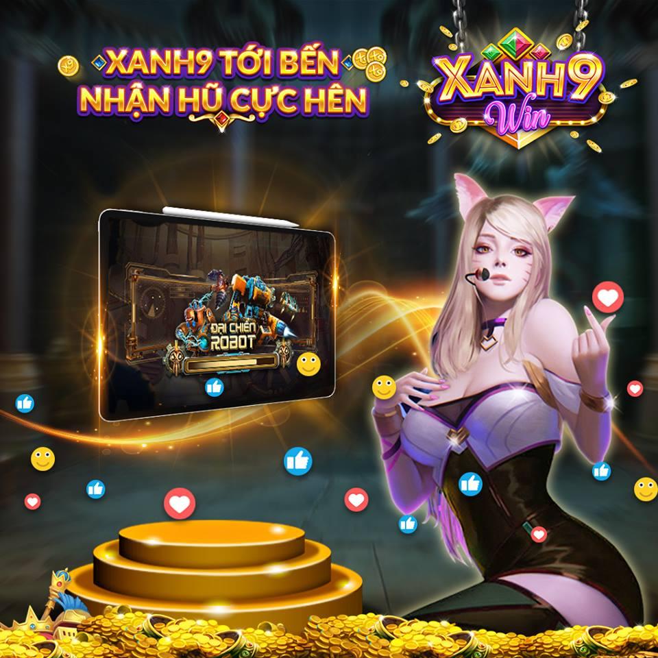 Hình ảnh tai game xanh9 win cong game slot hot nhat 2019 3 in Tải game Xanh9.win - Cổng game slot hot nhất 2019