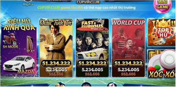 Hình ảnh Screenshot_1 2 in Cupvip game online đổi thưởng đẳng cấp 2019